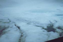 In the eye of Hurricane Emmy. Photo