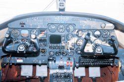 Inside a Light Aircraft Photo