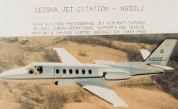 Cessna Jet Citation - N900LJ - High altitude photographic jet aircraft capable of dual camera operations Photo
