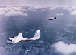 NOAA Buffalo used for photogrammetric missions. Photo