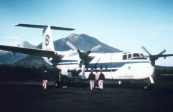 NOAA Buffalo used for photogrammetric missions. Photo