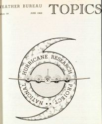 Hurricane Research Project Logo on cover of June 1960