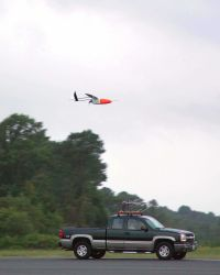 Testing small UAV's for use in a variety of scientific observation programs. Photo