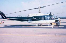 NOAA N58RF helicopter on ground. Photo
