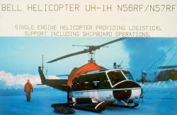 NOAA Bell helicopter UH-1H operating in northern Alaska in late winter/early spring Photo