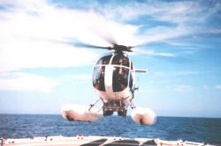 Flying off the DAVID STARR JORDAN in the Eastern Tropical Pacific Photo