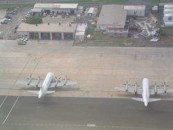 NOAA P-3s seen on ground at St Photo