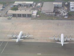NOAA P-3s seen on ground at St Photo
