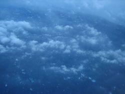 Eye of Hurricane Felix. Photo