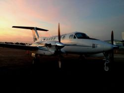 NOAA King Air (BC300 CER) N68RF. Photo