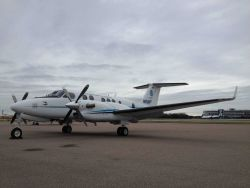 NOAA King Air (BC300 CER) N68RF on the ground at Tampa Photo