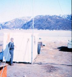 Station Number 117 - occupied 1/24/66 to 4/22/66 Photo
