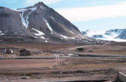 Scenery around Svalbard. Photo