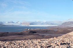 Satellite tracking and radar installation at Svalbard Photo