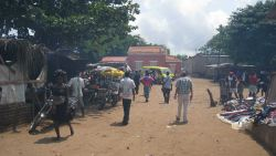 Market, Sao Tome Photo