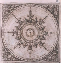 Image -2 of sequence - A decorative wind rose in: Philosophi ac medici... Photo