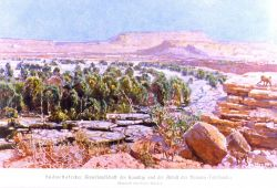 A view of the tablelands of German Southwest Africa Photo
