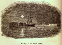 Moonlight in the Arctic regions Photo