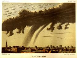 Virga over Paris Photo