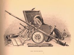 Instruments used in Nineteenth Century scientific ballooning Photo
