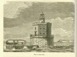 Race Rock Lighthouse in La Nature. Photo