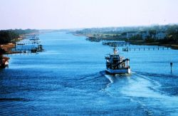 NOAA Ship FERREL in Intracoastal Waterway north of Charleston Photo