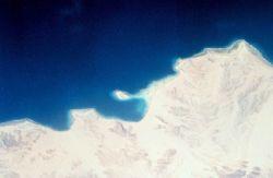 Sinai Desert shoreline on the Gulf of Aqaba Photo