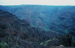 Waimea Canyon - the Grand Canyon of the Pacific Photo