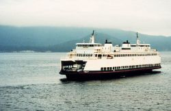 A Puget Sound ferry boat Photo