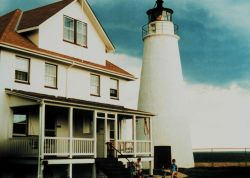 The Cove Point Lighthouse Photo