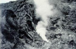 A fumarole at Kagamil Island. Photo