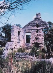 Tabby ruins at Chocolate on the northwest side of the island Photo