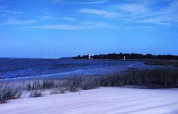 The Sapelo Island lighthouse was built in 1820 on the south end of the island Photo