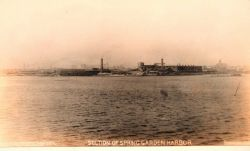 Spring Garden Harbor section of Baltimore Harbor Photo