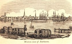 A western view of Fairhaven as seen from New Bedford Photo