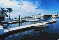 Port-O-Call Marina is home to recreational fishing boats Photo