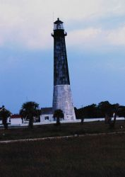 The lighthouse at Tybee Island Photo