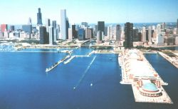 Chicago lakefront. Photo