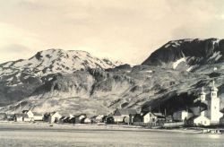 The villlage of Unalaska Photo
