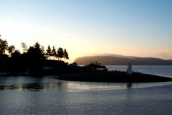 A mid-summer sunrise at Gig Harbor Photo