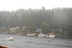 A rainy day at Gig Harbor Photo