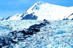 Glacier in Kenai Fjords Photo