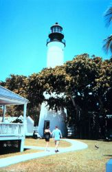 The lighthouse at Key West. Photo