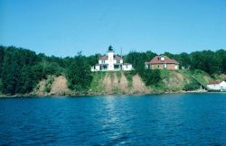 Raspberry Lighthouse in the Apostle Islands Photo