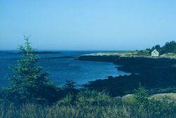 Near Coast Guard Base at Passamaquoddy Bay. Photo