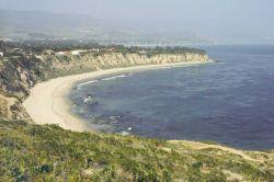Point Dume area looking towards Malibu. Photo