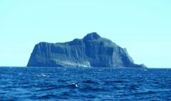 An island in the vicinity of Castle Cape. Photo