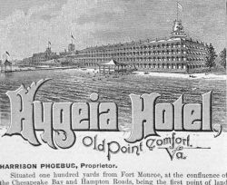 The Hygeia Hotel at Old Point Comfort, Virginia Photo