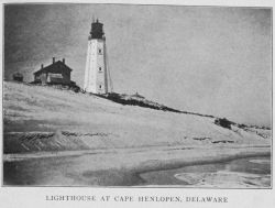 Lighthouse at Cape Henlopen, Delaware Photo