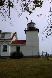 The Fort Point Lighthouse. Photo